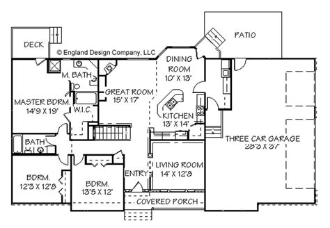 ranch house blueprints contemporary ranch house plans 171 unique house plans