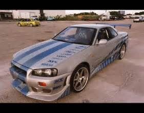 Nissan Fast 2 Fast 2 Furious Skyline Car Interior Design