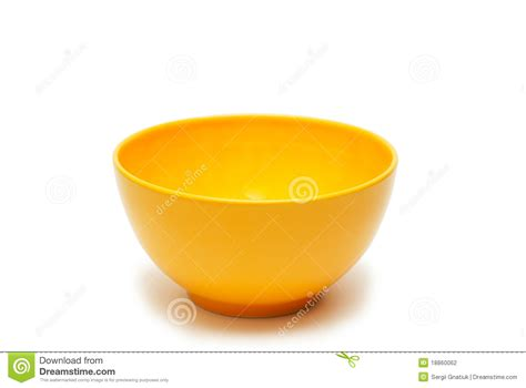bowl colors a bowl of yellow color stock photography image 18860062