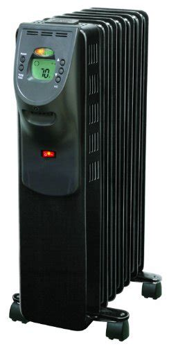 comfort zone oil filled heaters comfort zone digital electric oil filled radiator heater