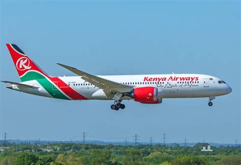 photo  onboard  kenya airways boeing