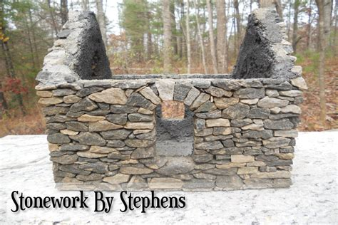How Much Are Patio Stones by How To Build A Miniature Stone House Stoneworkbystephens