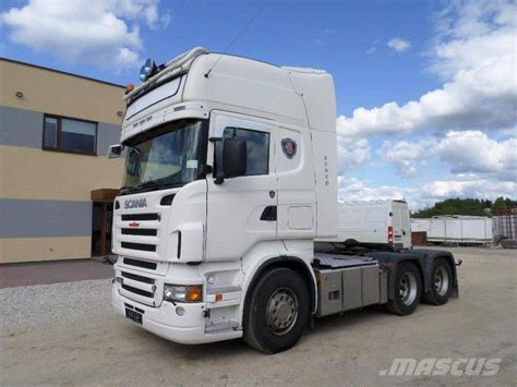 used scania r580 6x4 retarder analog tahho new tyres