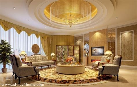 fascinating european living room ceiling design