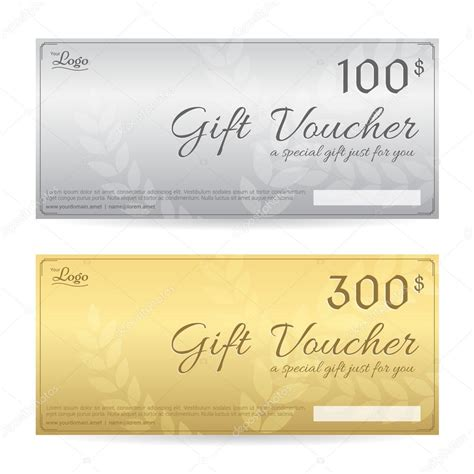 Luxury Gift Card Template by Gift Voucher Or Gift Certificate Template In Luxury Gold