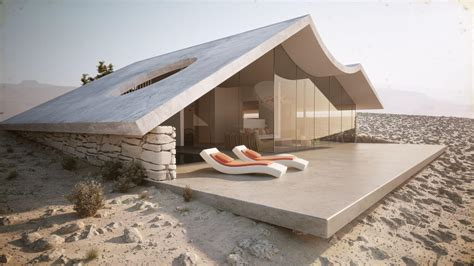 desert homes wrapped in sand modern house designs