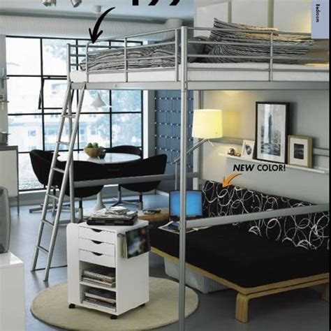 tromso loft bed frame troms 246 loft bed cama suspensa