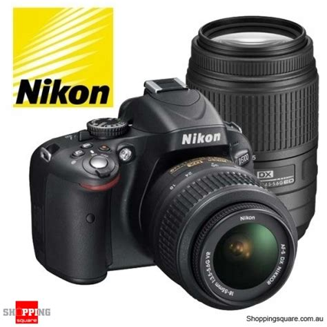 nikon digital slr d5100 kit 18 105mm refurbished shopping shopping square