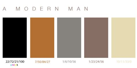 modern colour danish modern color palette mcm colour schemes