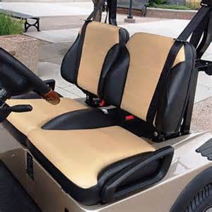 club car precedent black tan suite seats fits 2012 up
