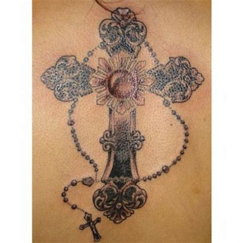 tatuaje de cruz