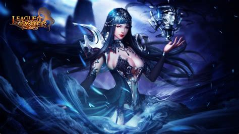 the angels game the league of angels popular game angel of the night nyx hero attack magic damage wallpaper for