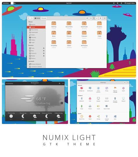 gnome themes numix numix light gtk3 theme by satya164 on deviantart