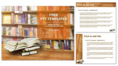 ppt templates free download books opened book powerpoint templates