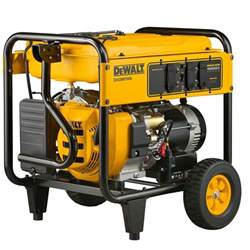 home depot dewalt dewalt 7 000 watt gasoline powered electric start portable