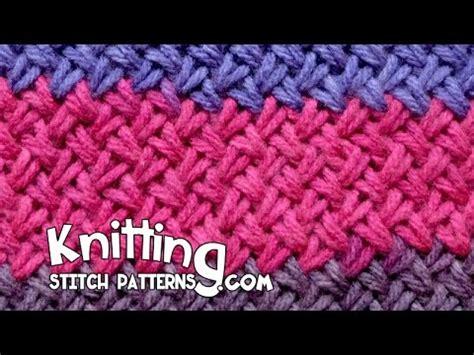 woven basket stitch knitting woven basket knitting