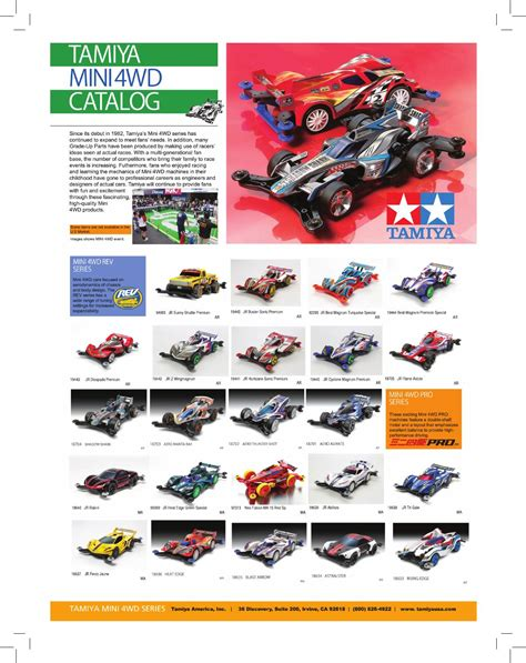 Tyes Tamiya Mini 4wd Pro Reinforced N 02 T 01 Units Item 15367 Ok tamiya 2015 mini4wd catalog by tamiya america inc issuu