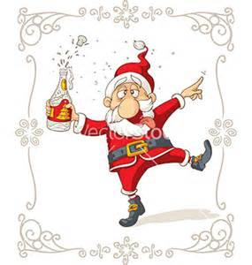 drunk santa cartoon images amp pictures becuo
