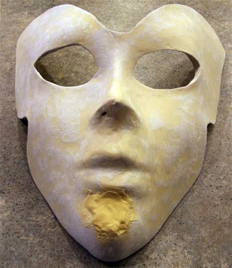 How To Make Paper Mache Smooth - surface smoothing technique for paper mache masks guest