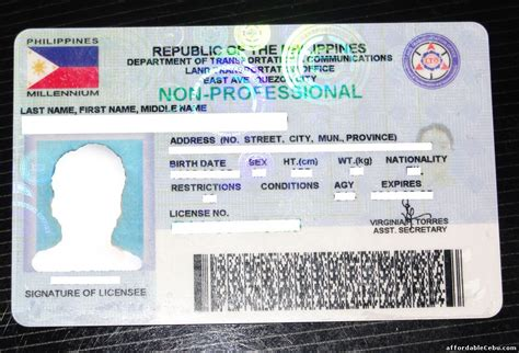 diplomatic id card template top 30 valid ids in the philippines philippine