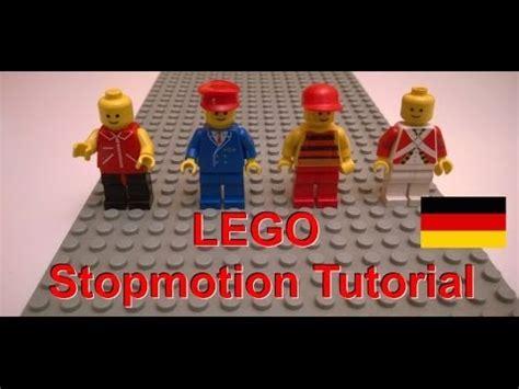tutorial lego stop motion stop motion tutorial wie lego m 228 nnchen laufen und wie
