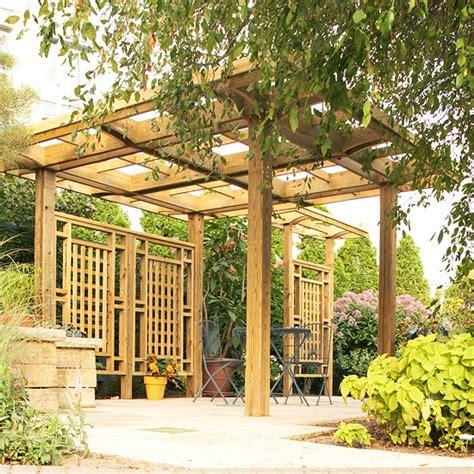 Pergola In Garden by Pergola In The Garden 10 Interesting Ideas For Wooden Arbors