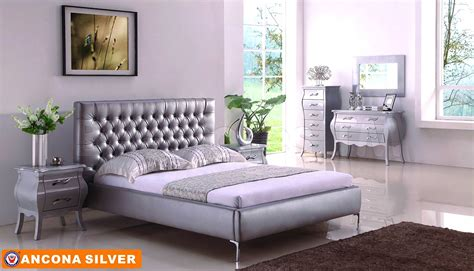 silver and white bedroom white and silver bedroom furniture