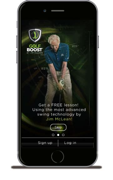 app golf swing analysis home page golf boost