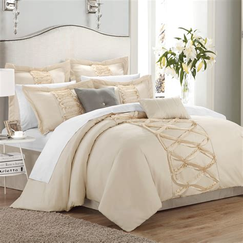 brown and white bedding elegant bedding for your bedroom ideas bedroom segomego