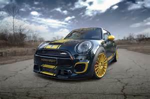 Mini Cooper Works Tuning Manhart Mini Cooper Works Tuning With 300 Horsepower