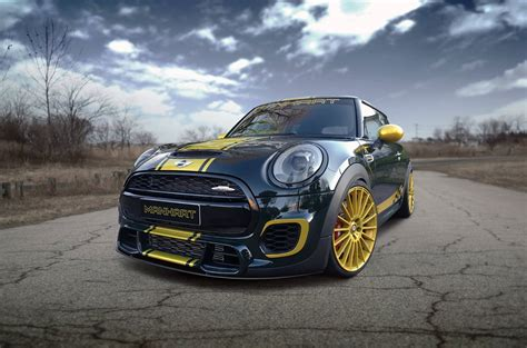 Mini Cooper Works by Manhart Mini Cooper Works Tuning With 300 Horsepower