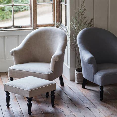 Linen Armchair by Clandon Linen Armchair By Rowen Wren Notonthehighstreet