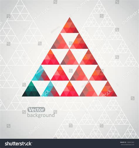 triangle pattern illustrator tutorial triangle pattern background triangle background vector