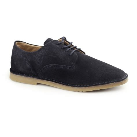 hush puppies suede shoes hush puppies grant mens suede desert lace up shoes navy shuperb