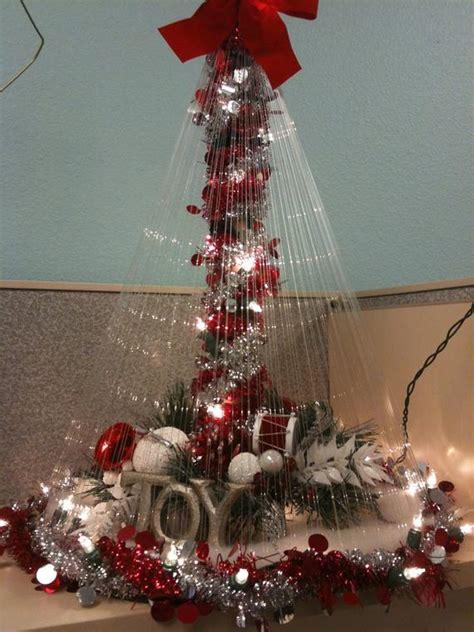 christmas tree from fishing line tutorial items similar to fishing line tree on etsy