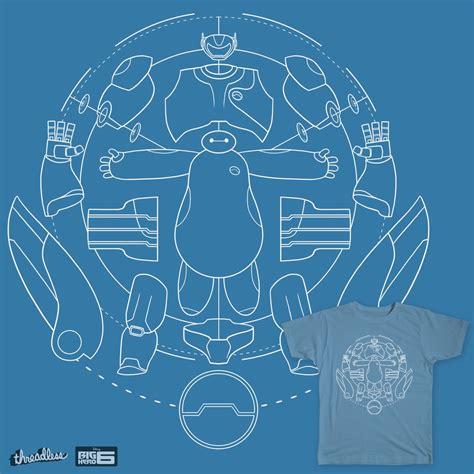 design a blueprint baymax blueprint a cool t shirt by joe wright on threadless