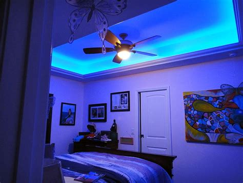 Led Bedroom Lights Decoration 20 Awesome Led Bedroom Ideas For Walls And Decoration Home Dzgn