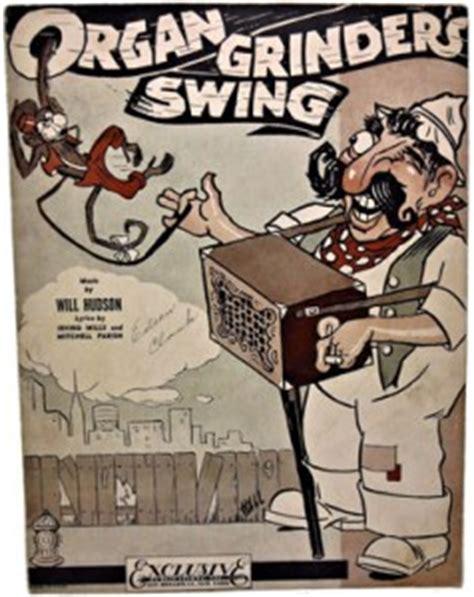 organ grinder swing organ grinder s swing 1937