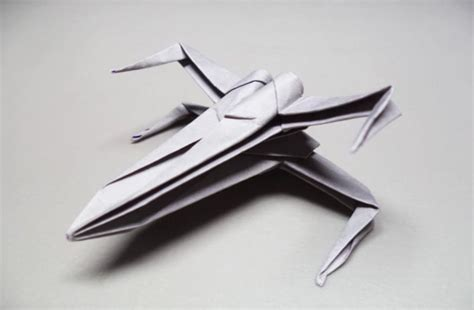 tutorial x wing origami its national paper airplane day nationalpaperairplaneday