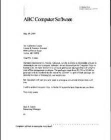 Business Letter Signature Title Components Of A Business Letter