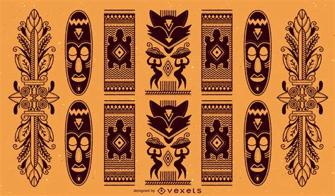 african pattern ai traditional african pattern vector download