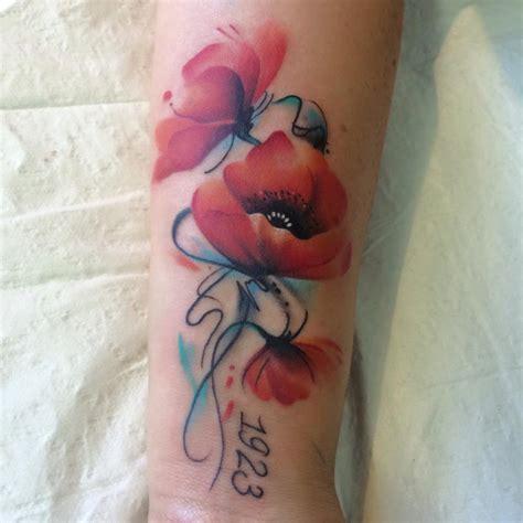 poppy flower tattoo poppy tattoos askideas