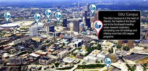 Georgia State Campus Map by Georgia State University Mobile Interactive Virtual Experience