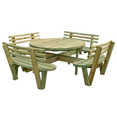 8 seater picnic table plans free download pdf woodworking 8 seat round picnic table plans