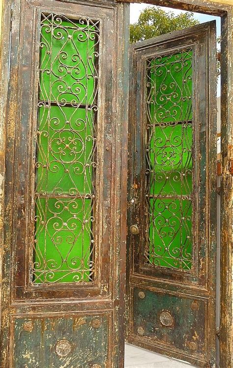 The Green Glass Door 17 Best Ideas About Distressed Doors 2017 On Laundry Room Colors Rustic Ironing