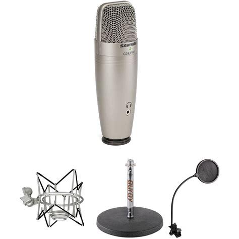 Samson Q2 Usb Microphone samson c01u pro usb mic and tabletop stand kit b h photo