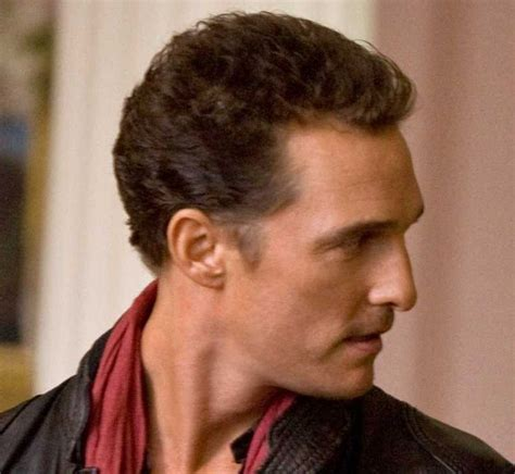 receiding hair hairstyle actor matthew mcconaughey should be bald celebrities with