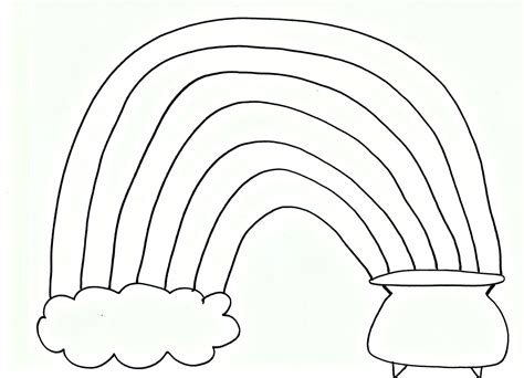 rainbow coloring pages pdf best photos of free printable rainbow coloring pages