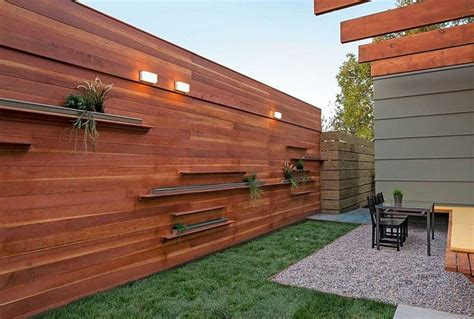 horizontal wood fence horizontal fence ideas can make a smooth transition from