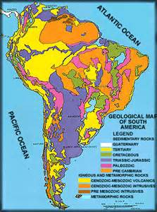 geologic map of america south america s geology